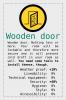 Wooden Door item